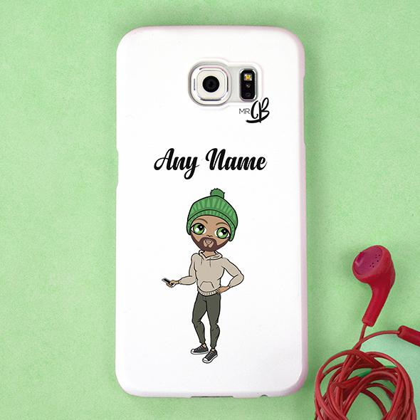 MrCB Personalized White Phone Case - Image 1