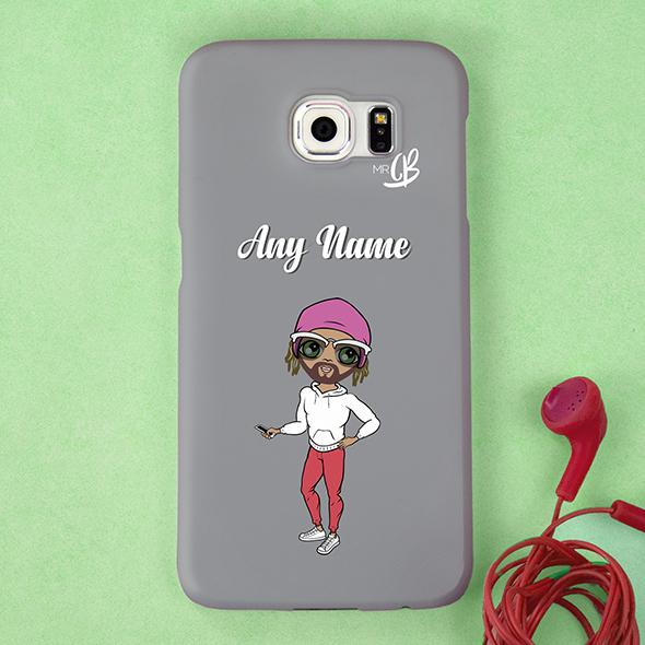 MrCB Personalized Grey Phone Case - Image 3