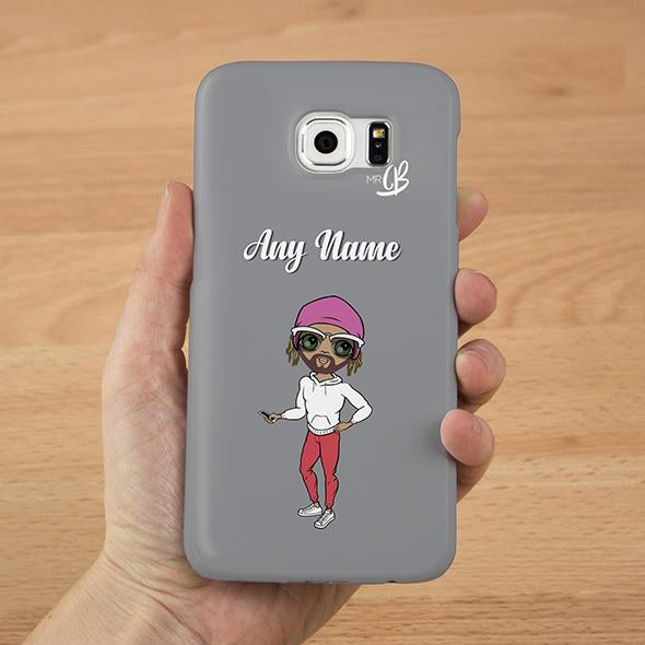 MrCB Personalized Grey Phone Case - Image 2