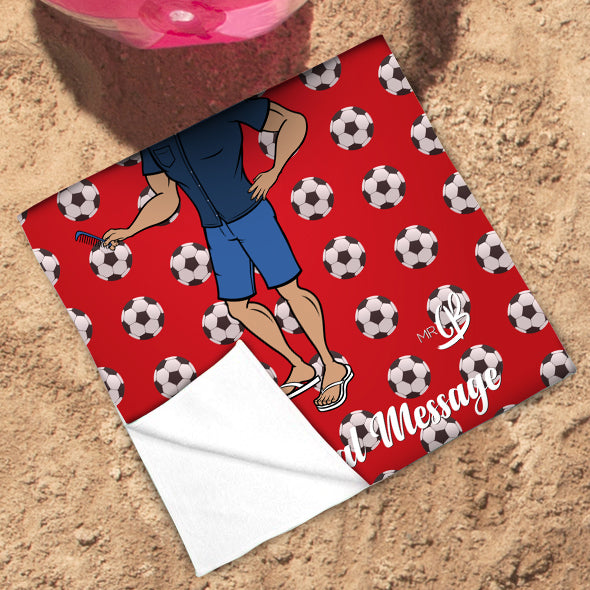 MrCB Football Beach Towel - Image 3