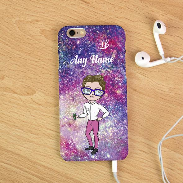 MrCB Glitter Effect Personalized Phone Case - Image 1