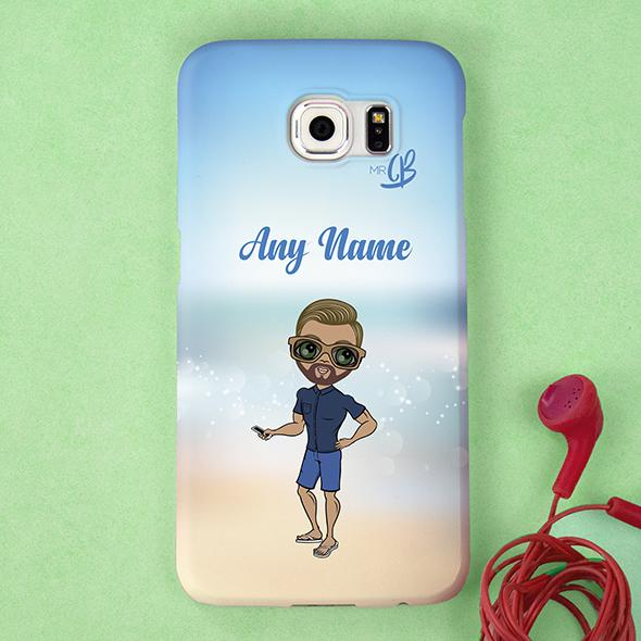 MrCB Beach Colors Personalized Phone Case - Image 0