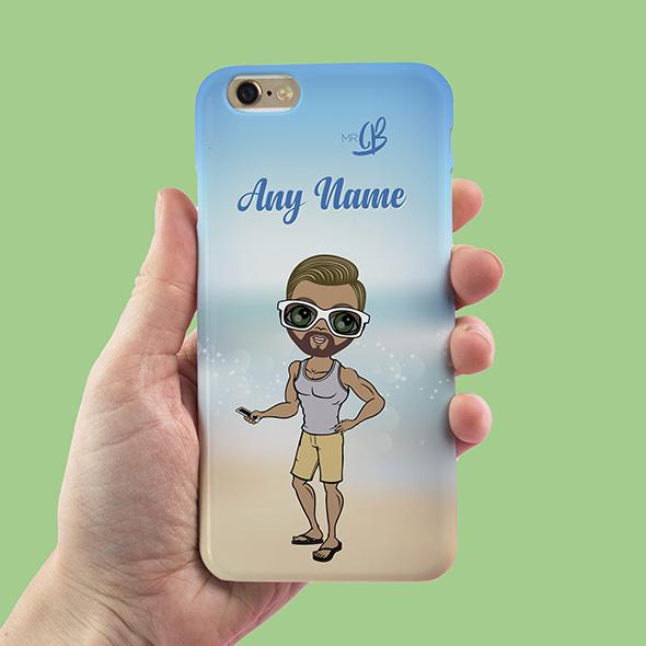 MrCB Beach Colors Personalized Phone Case - Image 2