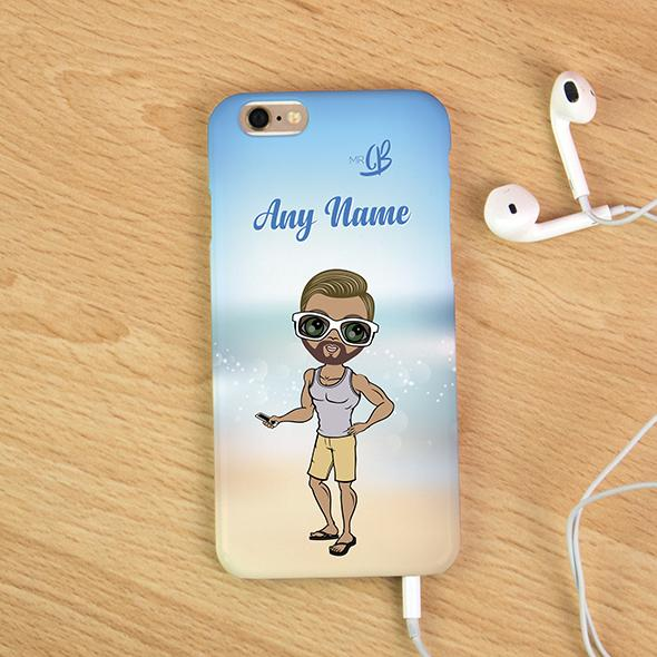 MrCB Beach Colors Personalized Phone Case - Image 3