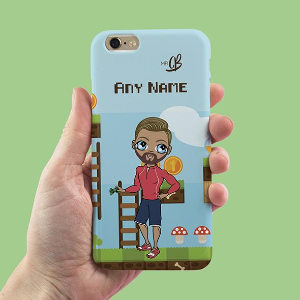 MrCB Gamer Personalized Phone Case - Image 1