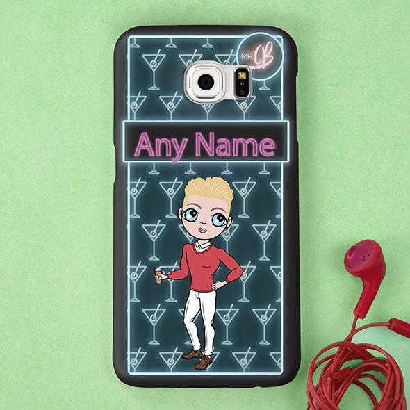MrCB Cocktail Hour Personalized Phone Case - Image 1