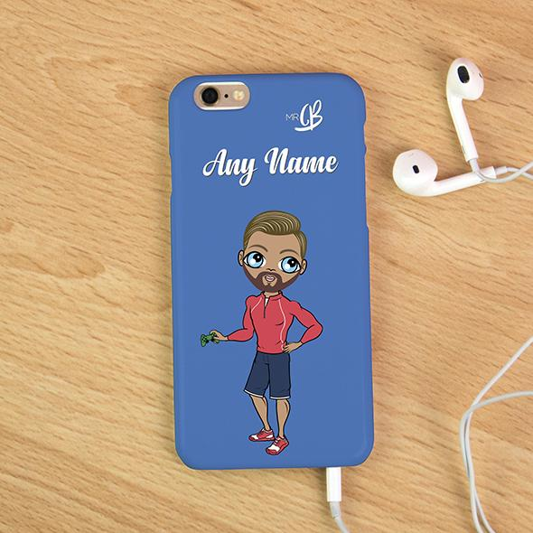 MrCB Blue Personalized Phone Case - Image 0