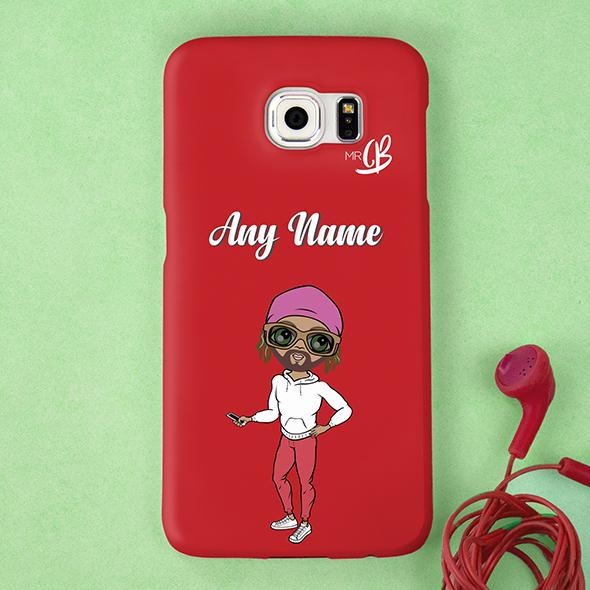 MrCB Red Personalized Phone Case - Image 0