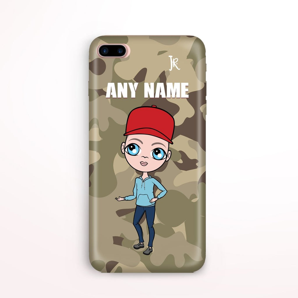 Jnr Boys Camo Phone Case - Image 0