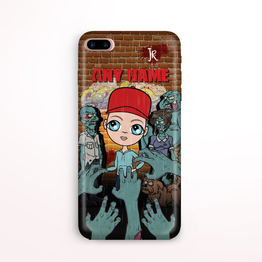 Jnr Boys Zombie Phone Case - Image 0