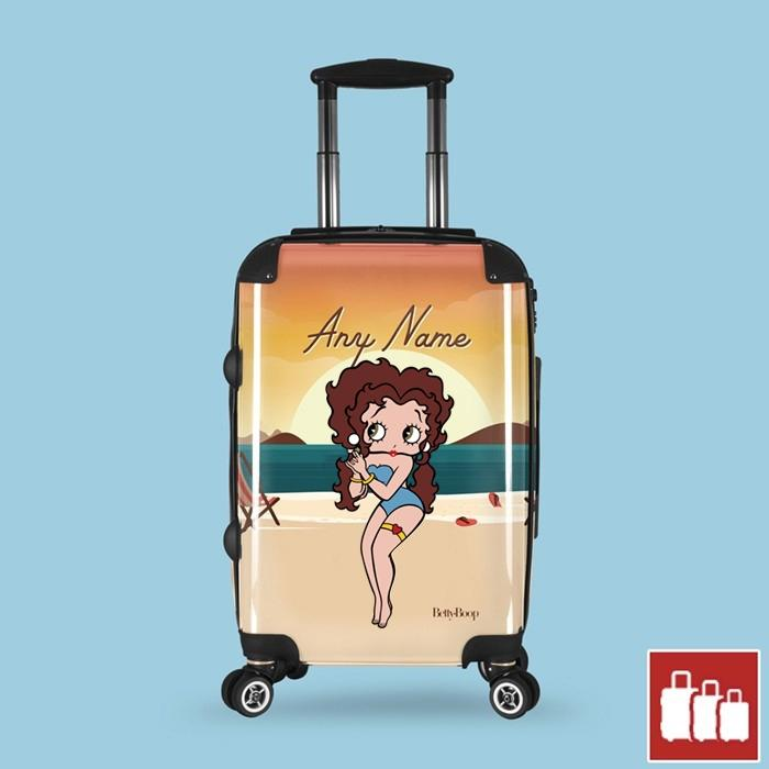 Betty Boop Sunset Beach Suitcase - Image 0