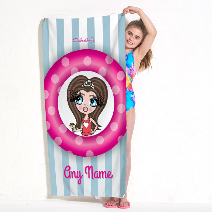 ClaireaBella Girls Pool Party Beach Towel