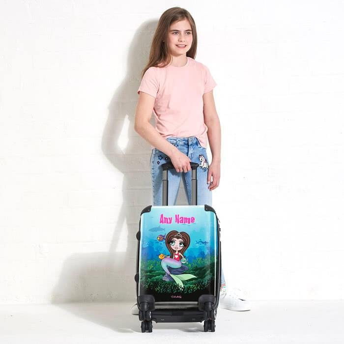 ClaireaBella Girls Mermaid Suitcase - Image 5