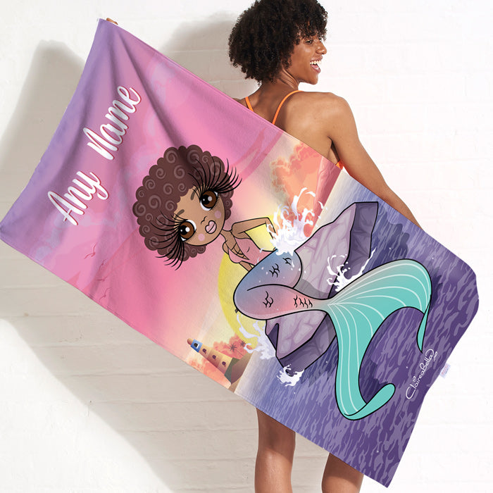 ClaireaBella Mermaid Beach Towel