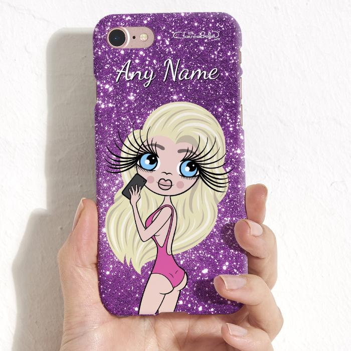 ClaireaBella Selfie Glitter Effect Phone Case - Image 2