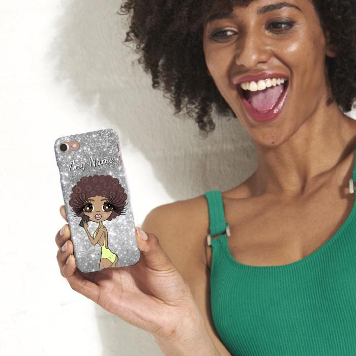 ClaireaBella Selfie Glitter Effect Phone Case - Image 5