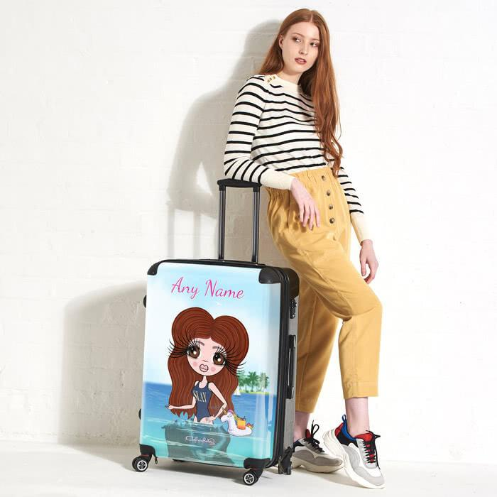 ClaireaBella Seaside Cocktails Suitcase - Image 0