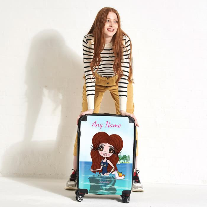 ClaireaBella Seaside Cocktails Suitcase - Image 4