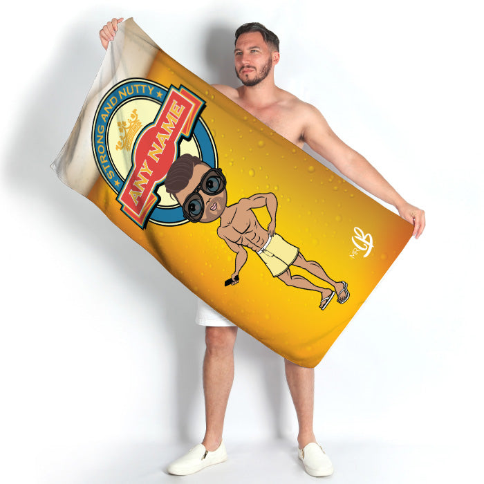 MrCB Beer Beach Towel