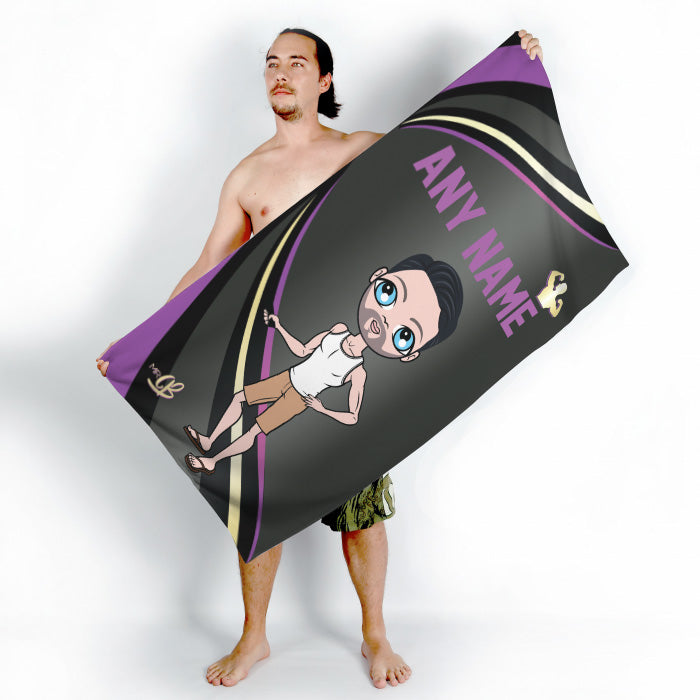 MrCB Dark Fruits Beach Towel