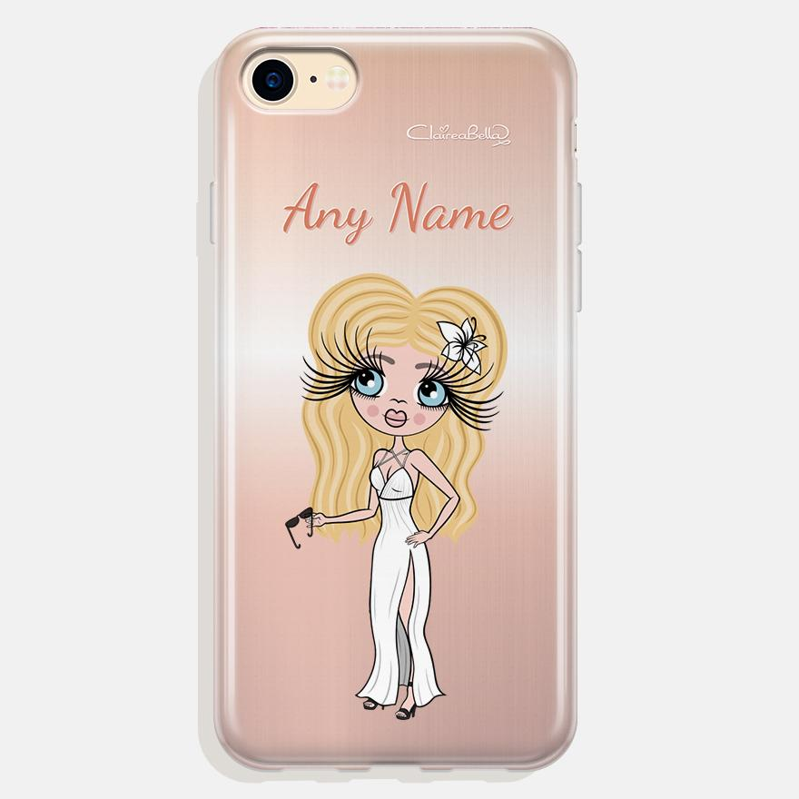 ClaireaBella Personalized Blush Phone Case - Image 0