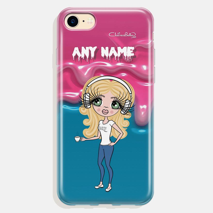 ClaireaBella Personalized Unicorn Slime Phone Case - Image 0