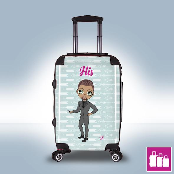 MrCB Cupid's Arrow Suitcase - Image 0