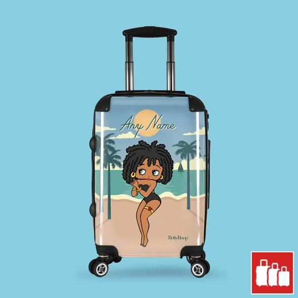 Betty Boop Beach Life Suitcase - Image 0