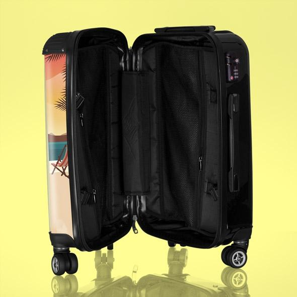 Betty Boop Sunset Beach Suitcase - Image 2