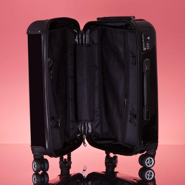 ClaireaBella Girls Black Suitcase - Image 7