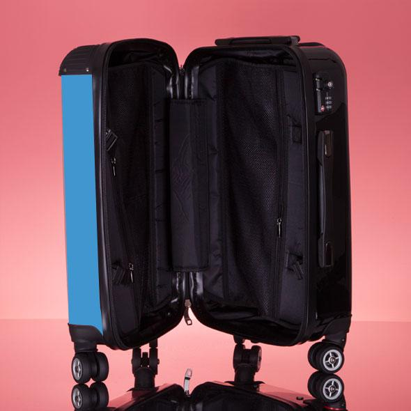 ClaireaBella Girls Turquoise Suitcase - Image 7