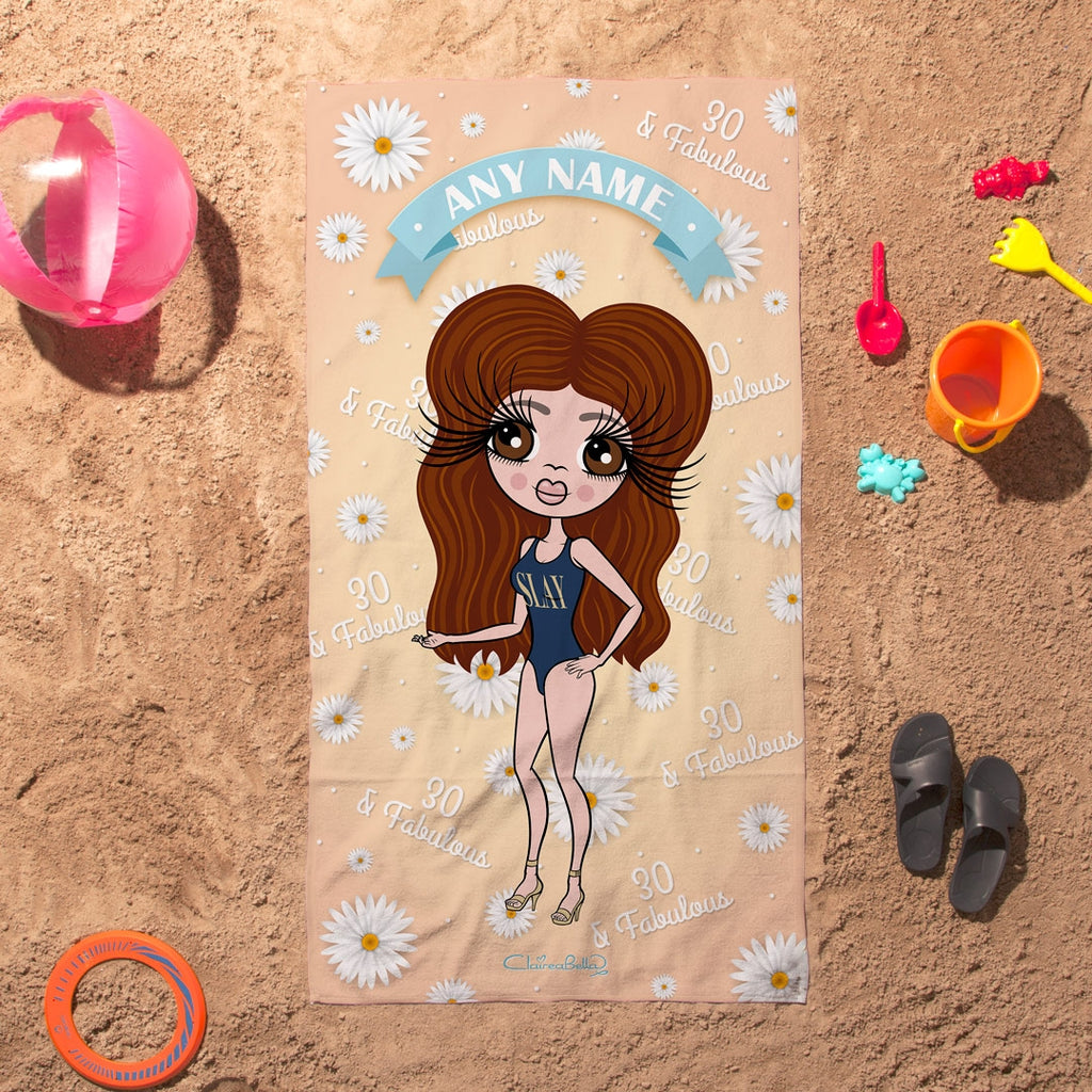 ClaireaBella Daisy Fabulous Beach Towel - Image 3
