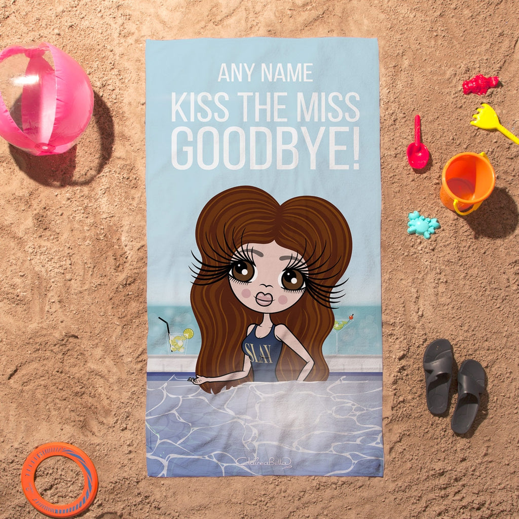ClaireaBella Kiss The Miss Beach Towel - Image 4