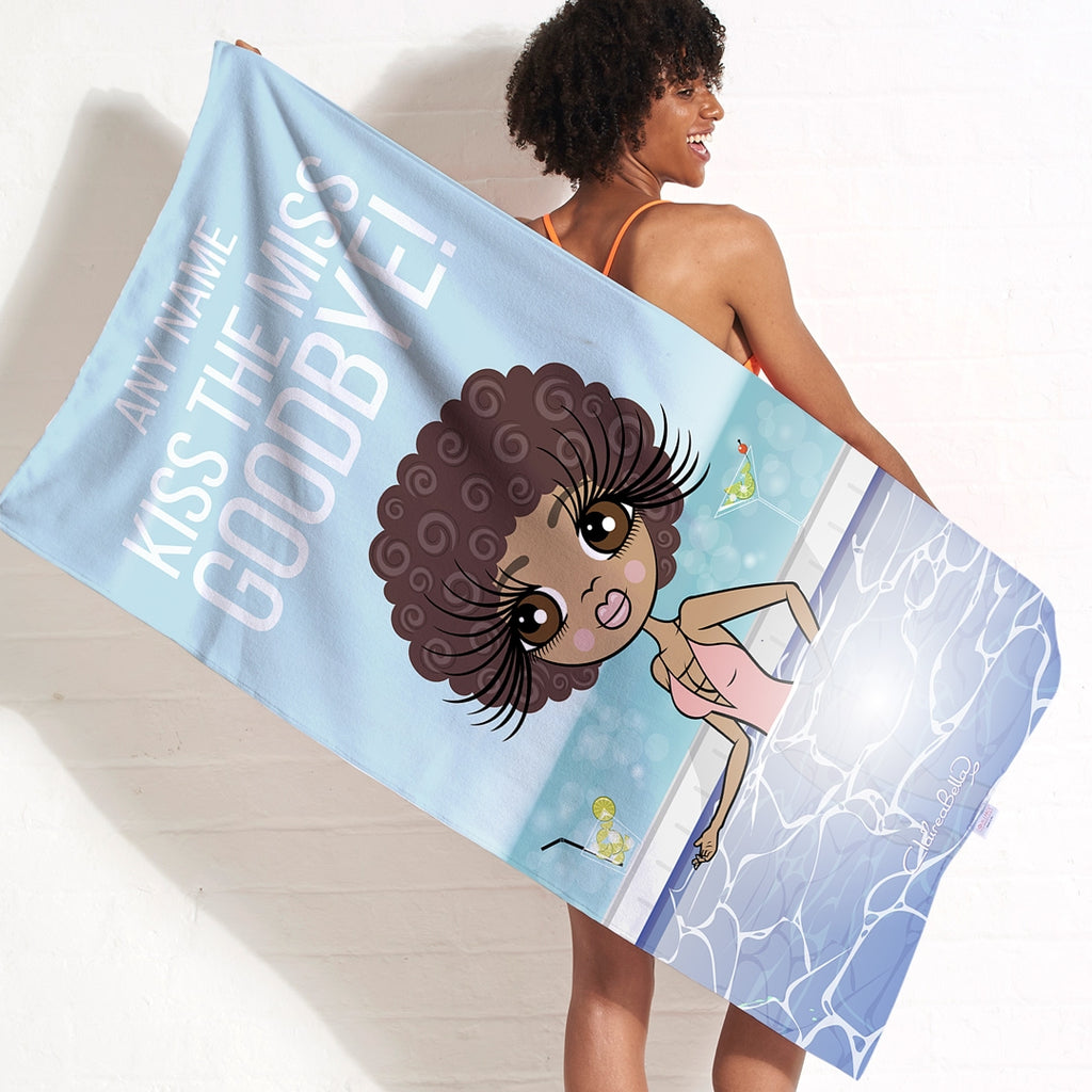 ClaireaBella Kiss The Miss Beach Towel - Image 5