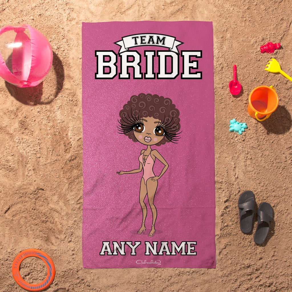 ClaireaBella Team Bride Beach Towel - Image 4