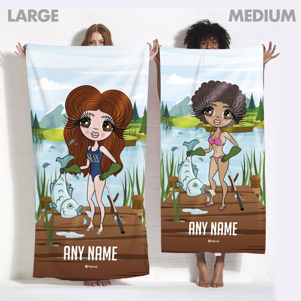 ClaireaBella Catch Of The Day Beach Towel - Image 5