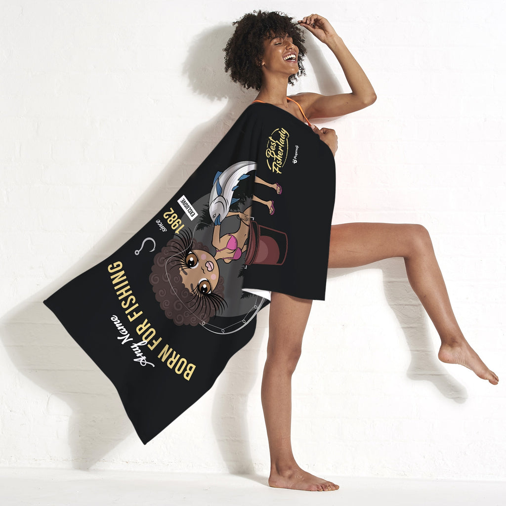 ClaireaBella Born Fishing Beach Towel - Image 4