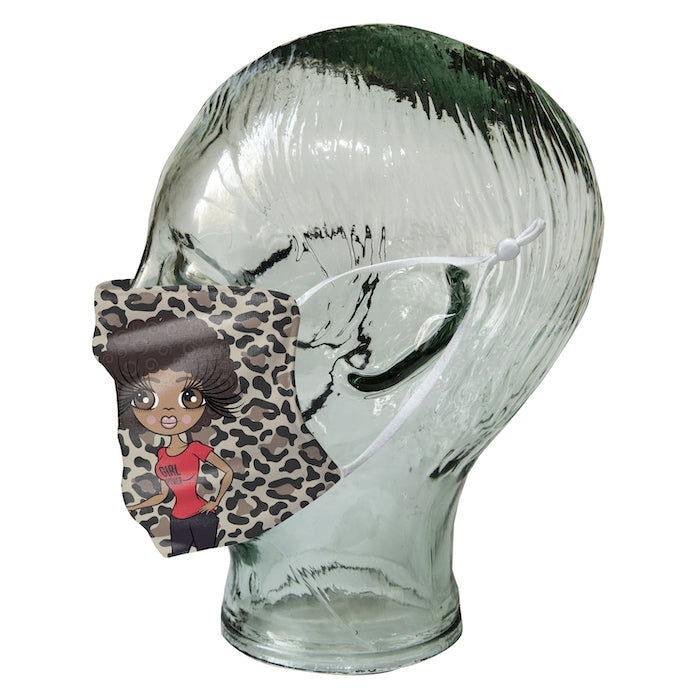 ClaireaBella Personalized Leopard Print Reusable Face Covering - Image 9