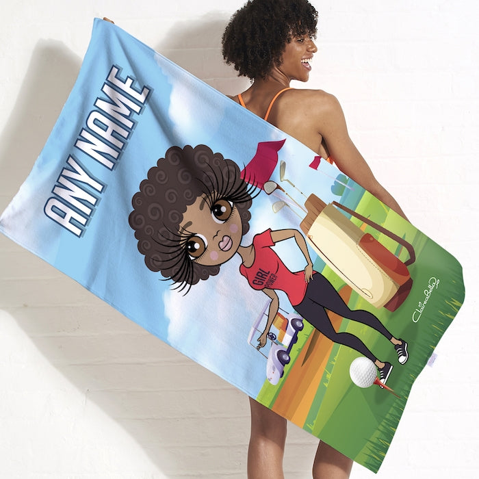 ClaireaBella Golf Beach Towel - Image 3