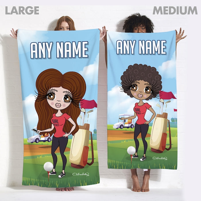 ClaireaBella Golf Beach Towel - Image 4