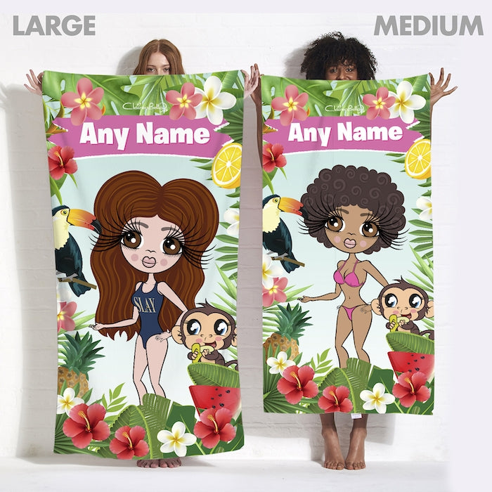 ClaireaBella Tropical Fun Beach Towel - Image 7