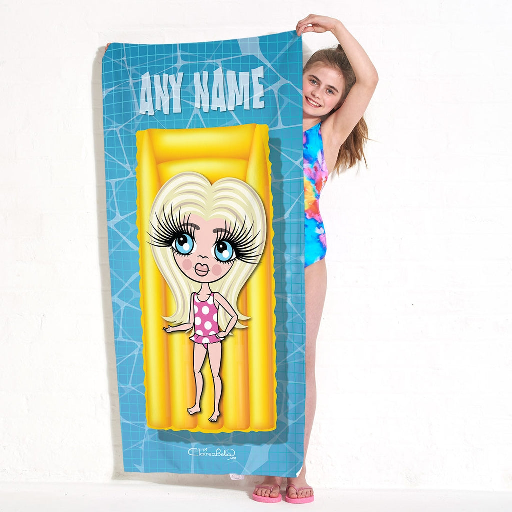 ClaireaBella Girls Chillax Beach Towel - Image 1