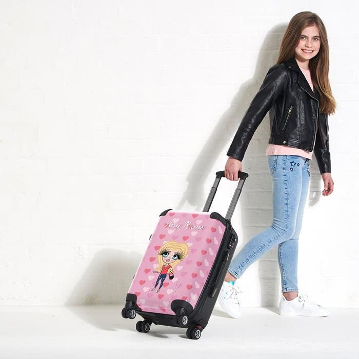 ClaireaBella Girls Heart Suitcase - Image 4