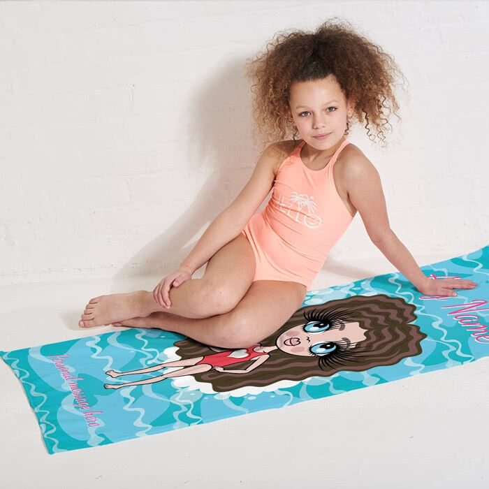 ClaireaBella Girls Pool Beach Towel - Image 9