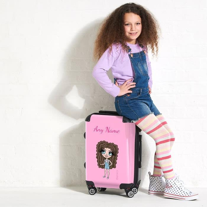 ClaireaBella Girls Pastel Pink Suitcase - Image 5