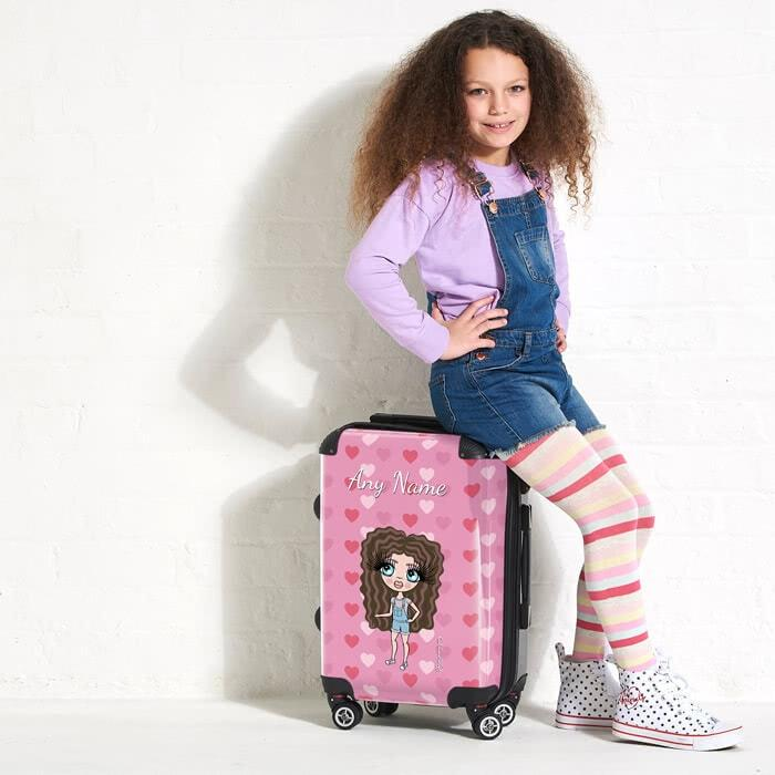 ClaireaBella Girls Heart Suitcase - Image 5