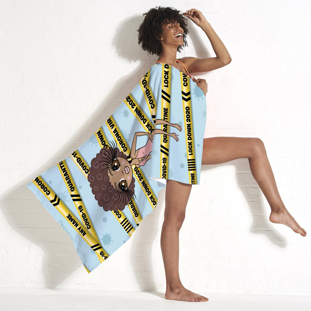 ClaireaBella Lock Down Beach Towel - Image 5