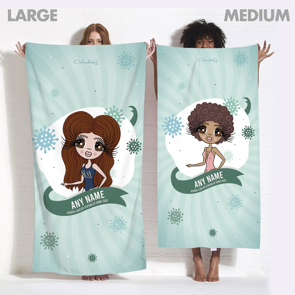 ClaireaBella Saved Lives Beach Towel - Image 7