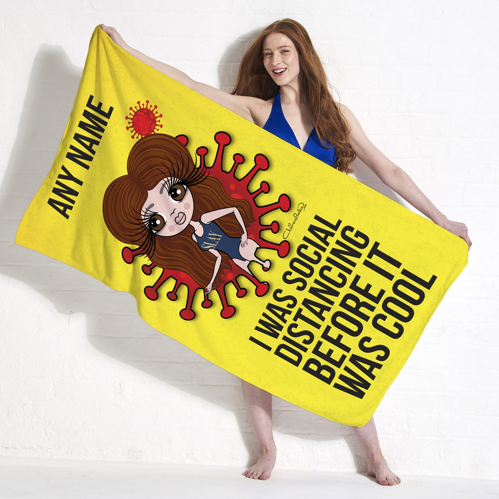 ClaireaBella Social Distancing Beach Towel - Image 3