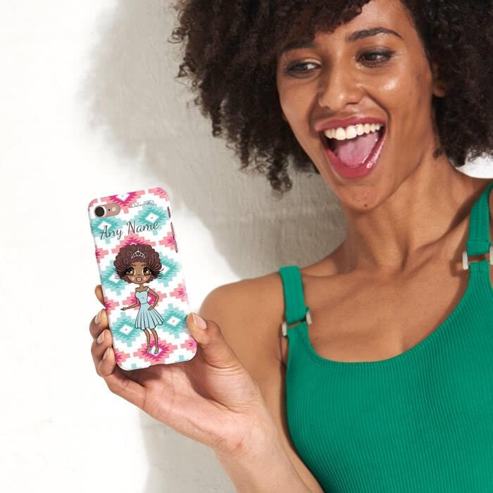 ClaireaBella Personalized Aztec Geo Phone Case - Image 2